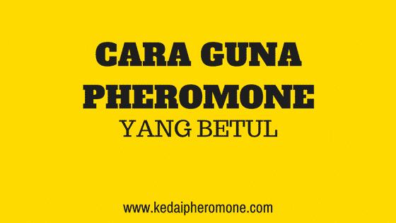 Cara guna Pheromone perfumes yang betul 1